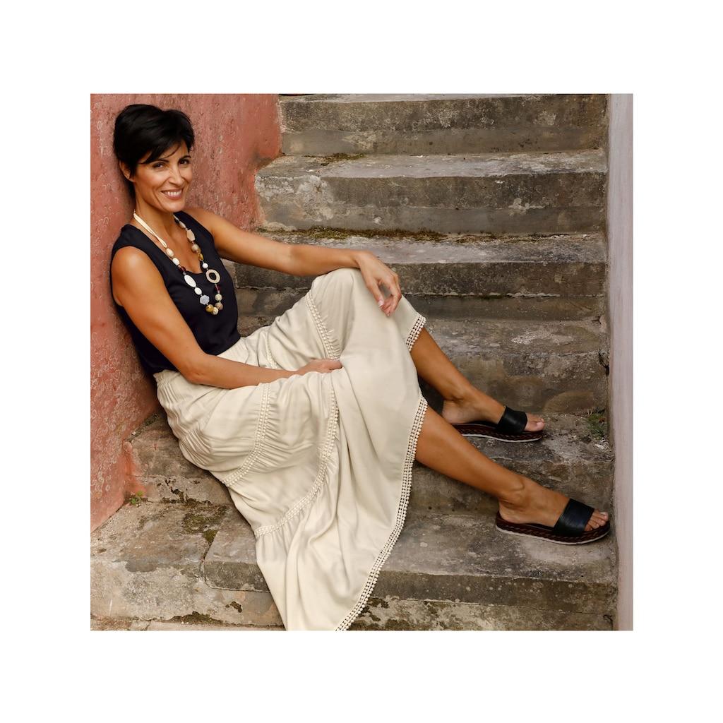 Paola Maxirock, mit Stufen