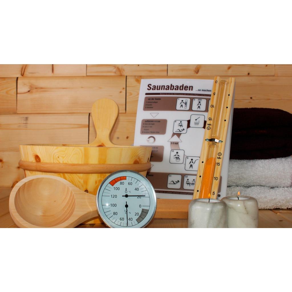 Karibu Sauna-Aufgussset »Zubehörset Classic«