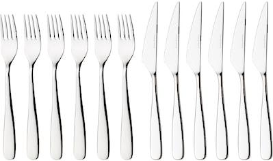 nurso Steakbesteck »Tuva«, (Set, 12 tlg.), Edelstahl 18/10, 12-teilig kaufen