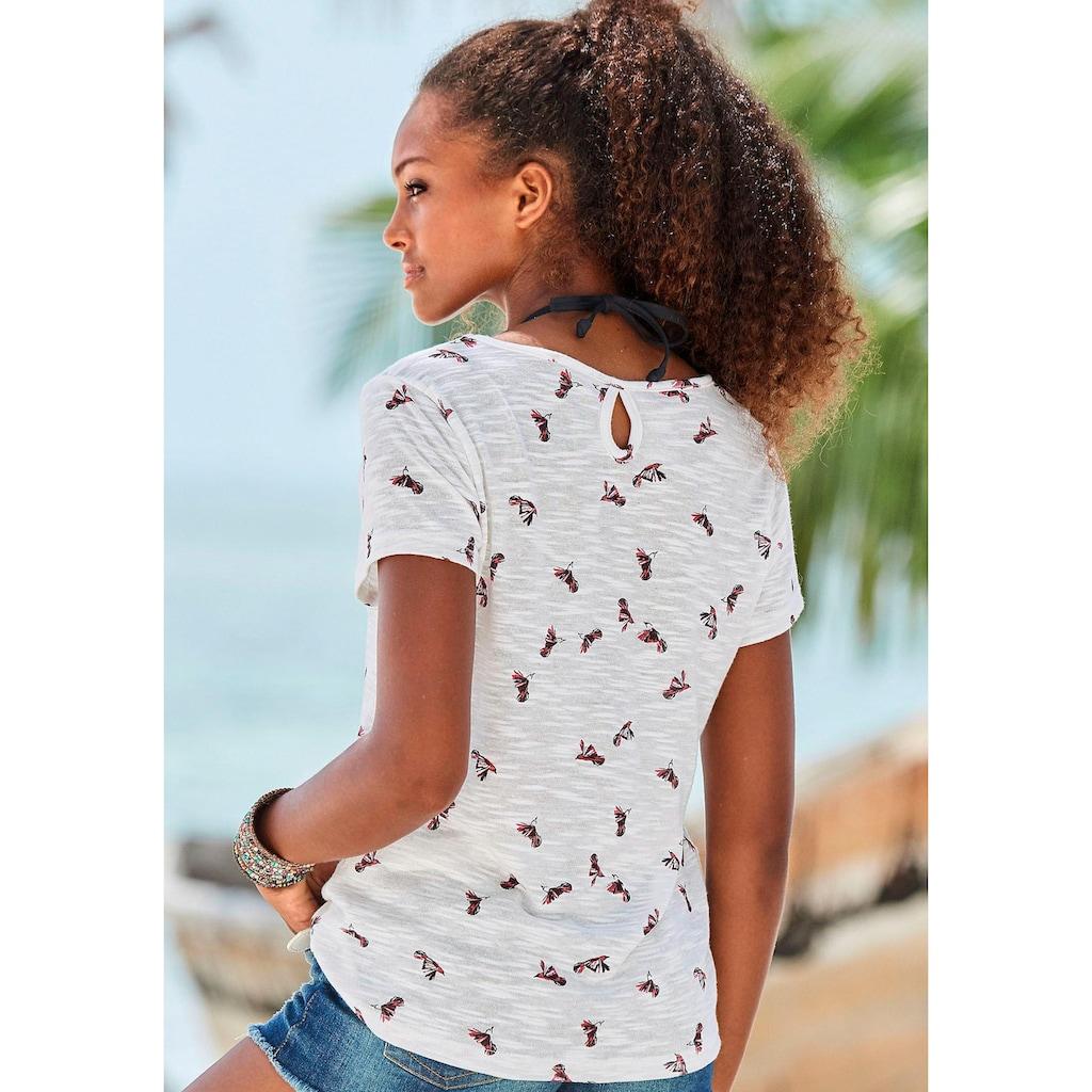 Vivance T-Shirt, mit schönem Kolibri-Druck