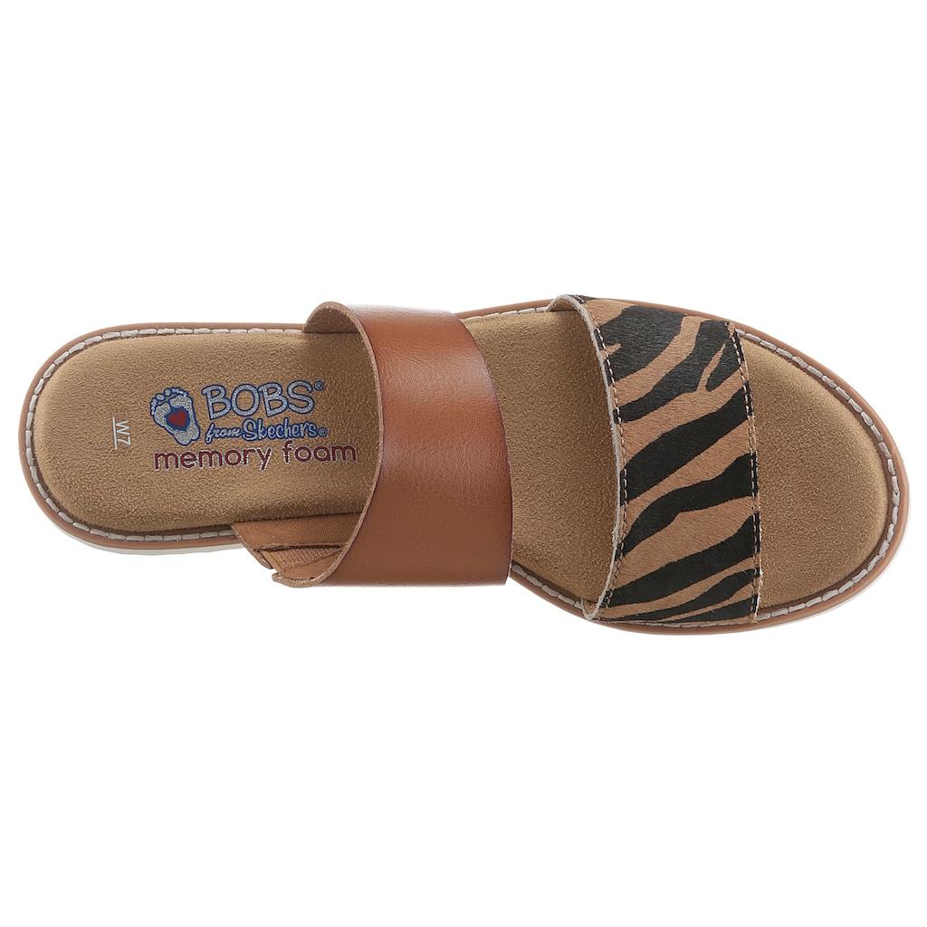 Skechers Pantolette »Blazing Star«, mit Skechers Memory Foam