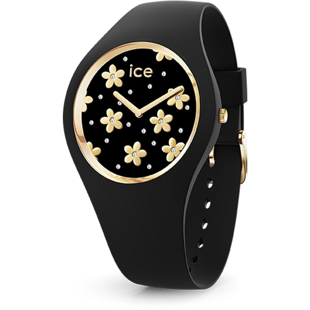 ice-watch Quarzuhr »ICE flower - Precious black - Small - 2H, 16659«
