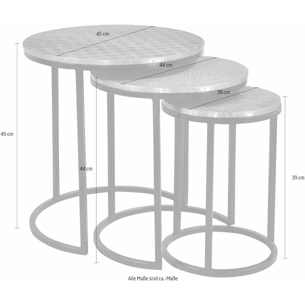 SIT Beistelltisch »This&That«, (Set), mit Metalloberflächen