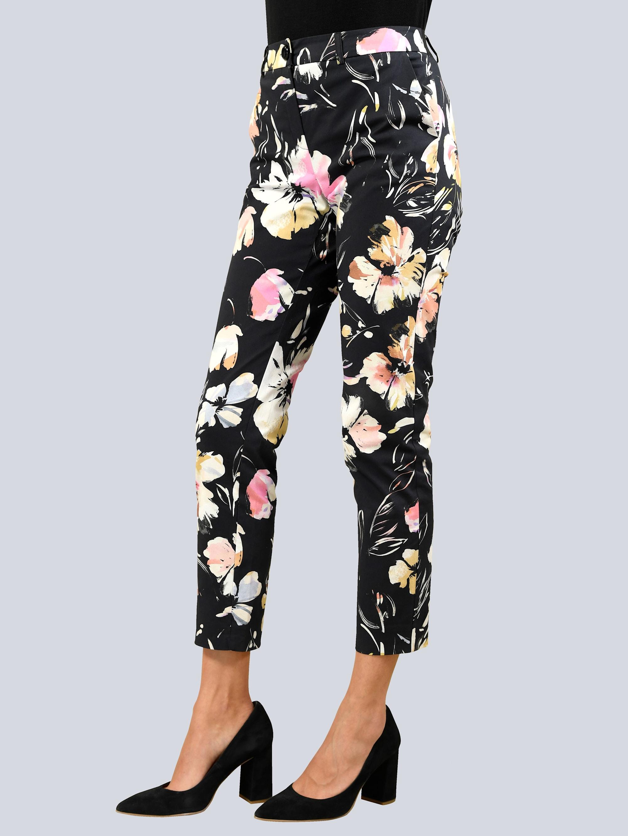 alba moda -  Stoffhose, mit Bügelfalte