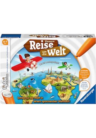 Ravensburger Spiel »tiptoi® Unsere Reise um die Welt«, Made in Europe; FSC® - schützt... kaufen
