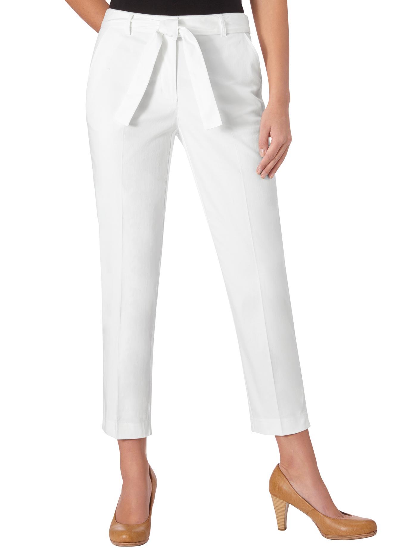 Inspirationen 7/8-Hose mit Bügelfalten vorne und hinten | Bekleidung > Hosen > 7/8-Hosen | Inspirationen