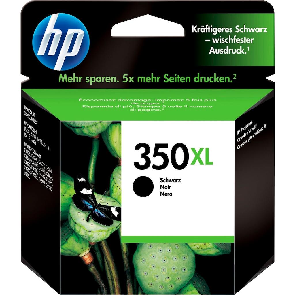 HP Tintenpatrone »hp 350XL Original Foto schwarz«, (1 St.)