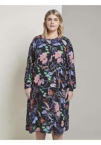 TOM TAILOR MY TRUE ME Maxikleid »Gemustertes Midi - Kleid« kaufen