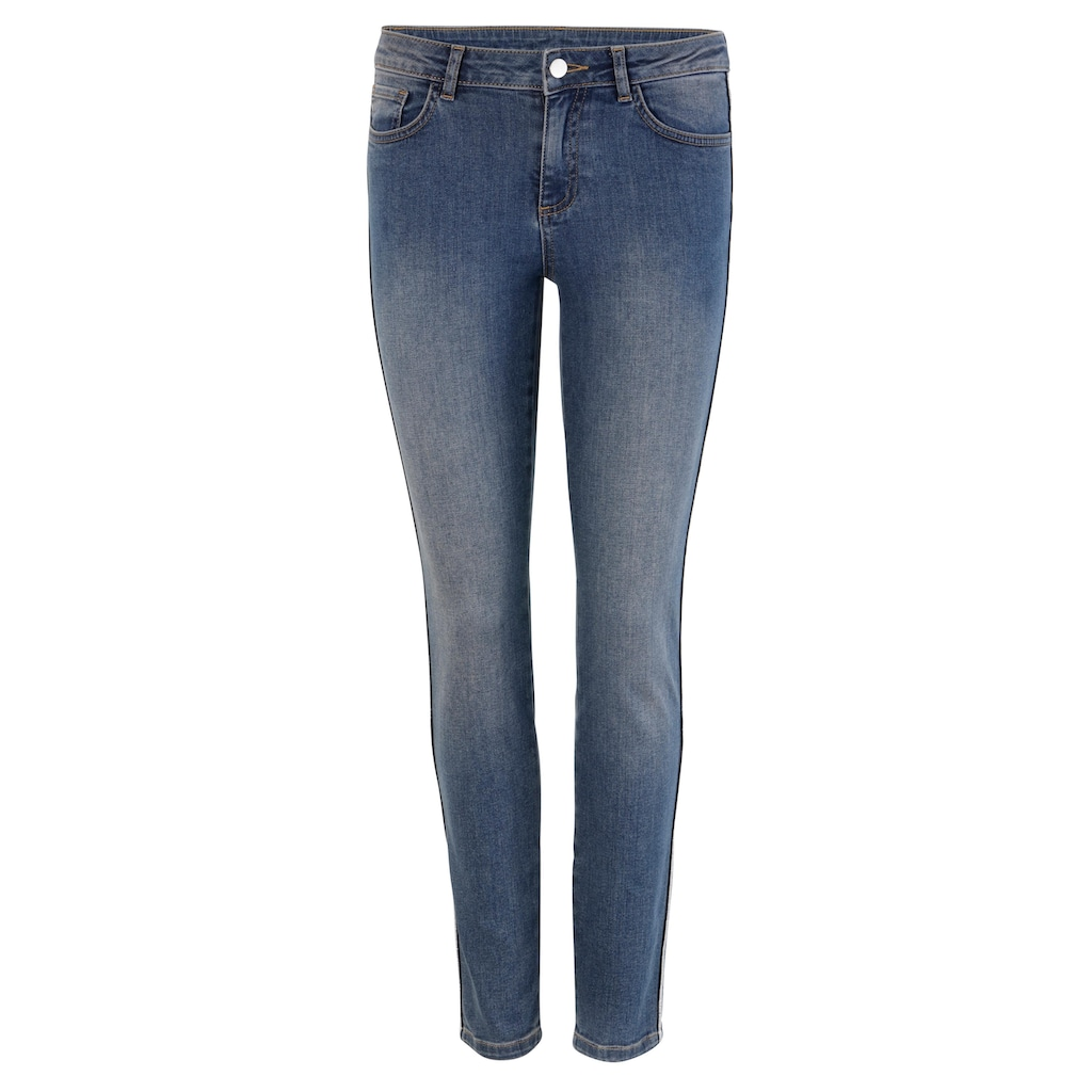 Aniston SELECTED Skinny-fit-Jeans, Regular Waist