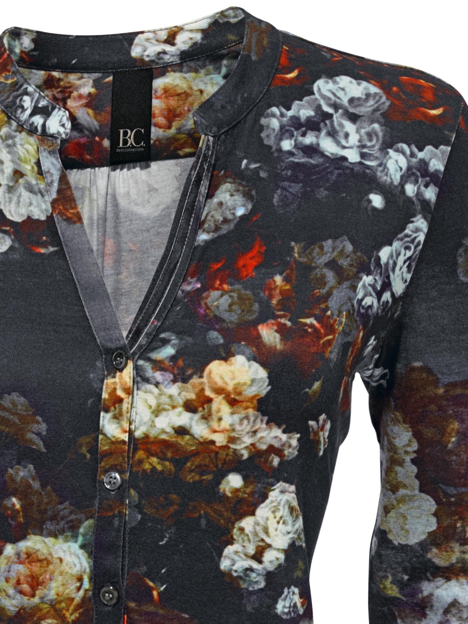 heine CASUAL Shirtbluse mit Blumen