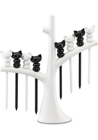 KOZIOL Partyspieße »Party-Piekser-Set mit Baum MIAOU«, (9 St., 1 Baum mit 8 Pieksern),... kaufen