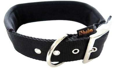 HEIM Hunde-Halsband, Nylon, mit Neopren-Futter, Länge: 60 cm kaufen