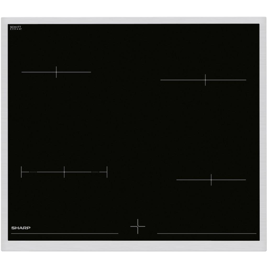 Sharp Elektro-Herd-Set »K-62D19IM0-EU«, K-62D19IM0-EU, (Set), mit HighLight- SCHOTT CERAN®-Glaskeramikmulde