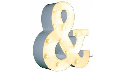 MARQUEE LIGHTS LED Dekolicht »&-Zeichen«, E14, 1 St., Warmweiß, Wandlampe, Tischlampe... kaufen