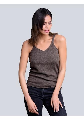 Alba Moda Stricktop, mit Kaschmiranteil kaufen