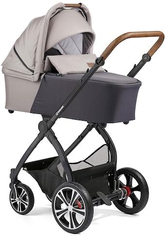 Gesslein Kombi-Kinderwagen »FX4 Life, schwarz/tabak mit Wanne CX3, kieselgrau/weiß... kaufen