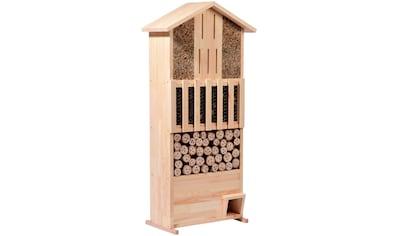 dobar Insektenhotel »XXL«, BxTxH: 58x30x110 cm, mit integriertem Igelhaus kaufen