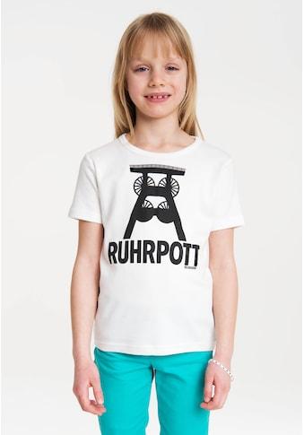 LOGOSHIRT T-Shirt »Ruhrpott«, mit Print mit lizenziertem Originaldesign kaufen