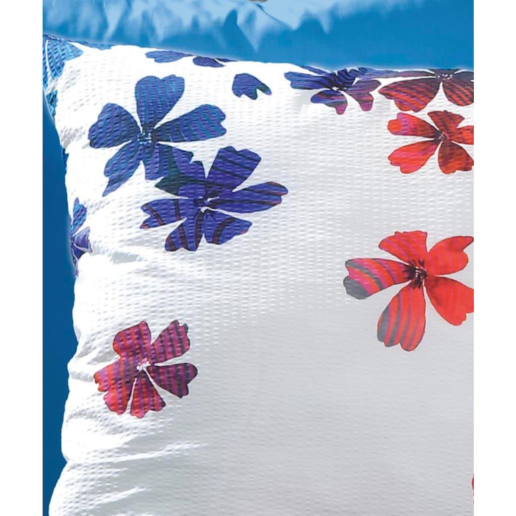 fleuresse Wendebettwäsche »Bali«, mit Blüten