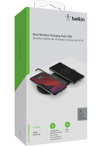 Belkin Ladestation »2x 10W Dual Wireless Charging Pad mit Netzteil« kaufen