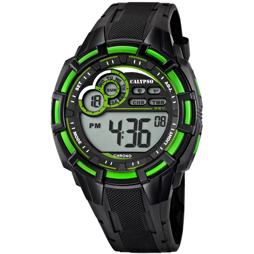 CALYPSO WATCHES Chronograph »Digital For Man, K5625/3«