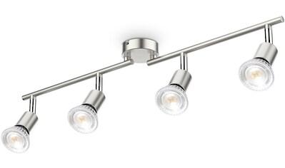 B.K.Licht Deckenleuchte, GU10, 1 St., 4-flammige LED Deckenlampe, 4x 5W Leuchtmittel... kaufen