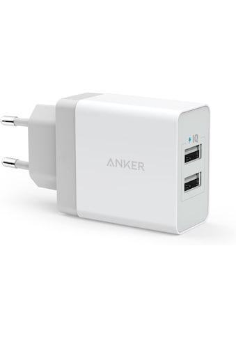 Anker »24W 2 - Port USB - Ladegerät« USB - Ladegerät kaufen