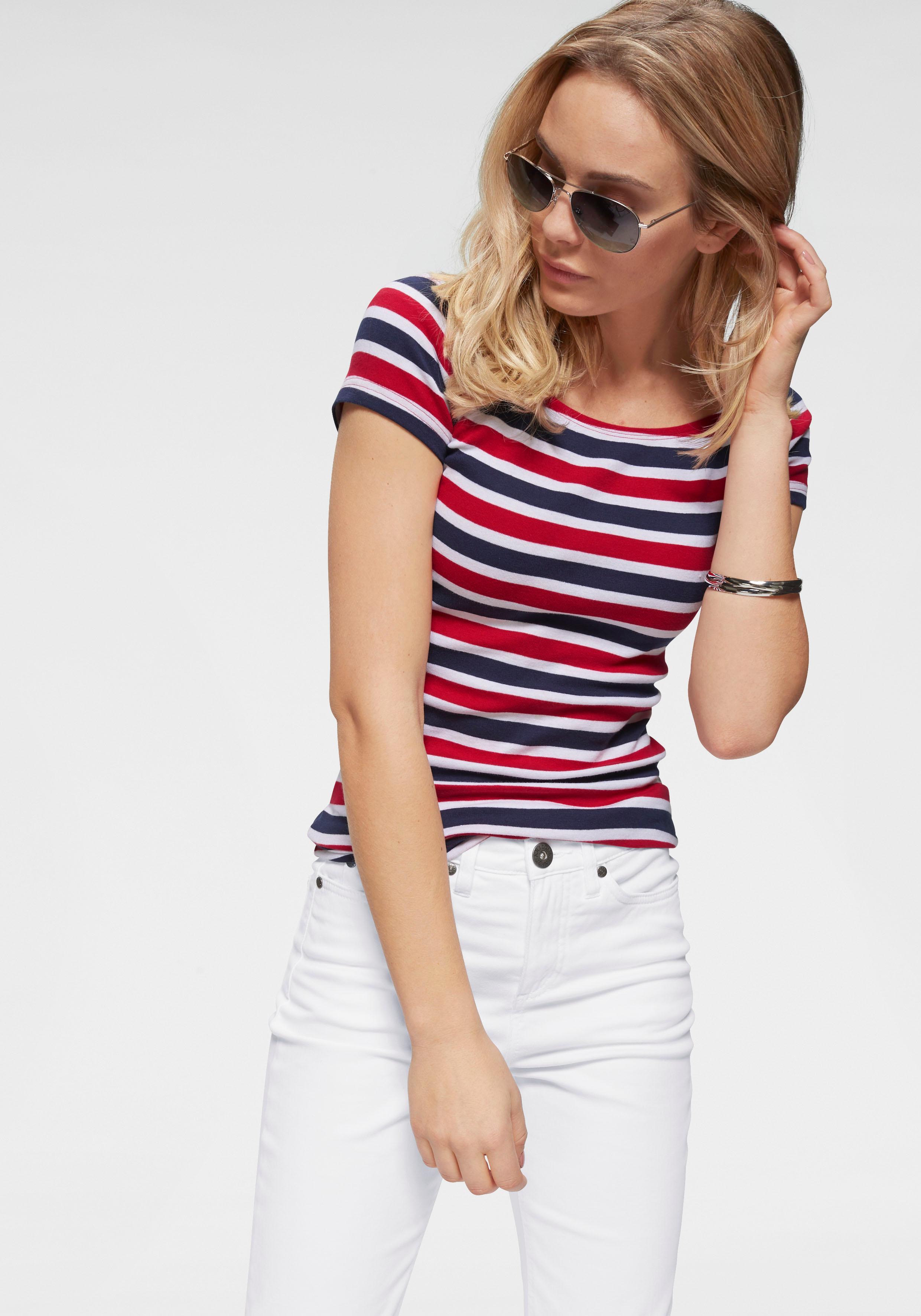Arizona Carmenshirt Off-Shoulder | Bekleidung > Shirts > Carmenshirts & Wasserfallshirts | Rot | Arizona
