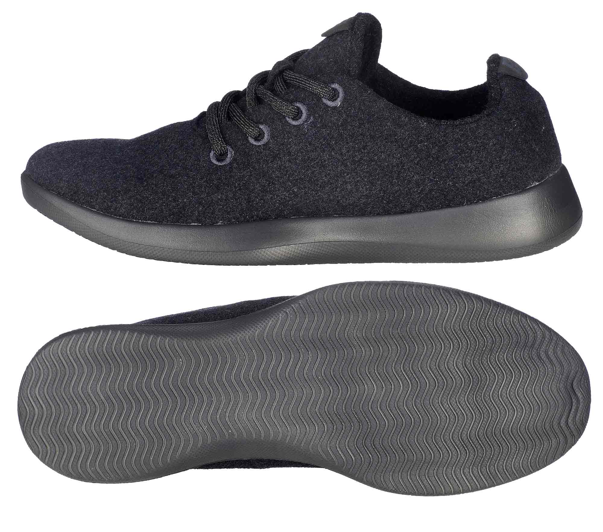 Ballop Sneaker Tenderness schwarz Wanderschuhe Wandern Sportarten Unisex