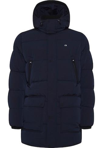 Calvin Klein Steppjacke »CRINKLE NYLON LONG LENGTH JACKET« kaufen