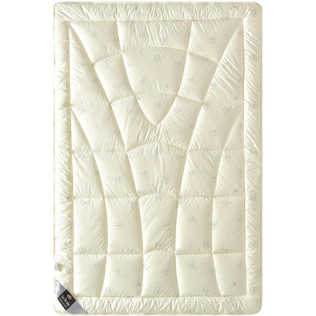 SEI Design Naturfaserbettdecke »WOOL Comfort«, warm, (1 St.)