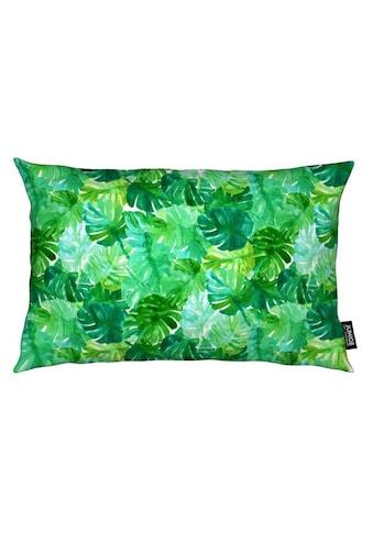 Juniqe Dekokissen »Welcome to the Jungle«, Weiches, allergikerfreundliches Material kaufen