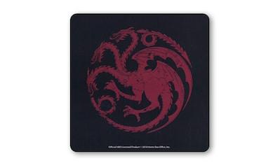 LOGOSHIRT Untersetzer mit Targaryen-Logo kaufen