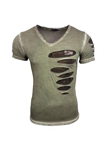 Rusty Neal T - Shirt in ausgefallenem Design kaufen