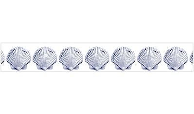 MySpotti Fensterfolie »Look Shells blue«, halbtransparent, glattstatisch haftend, 200... kaufen