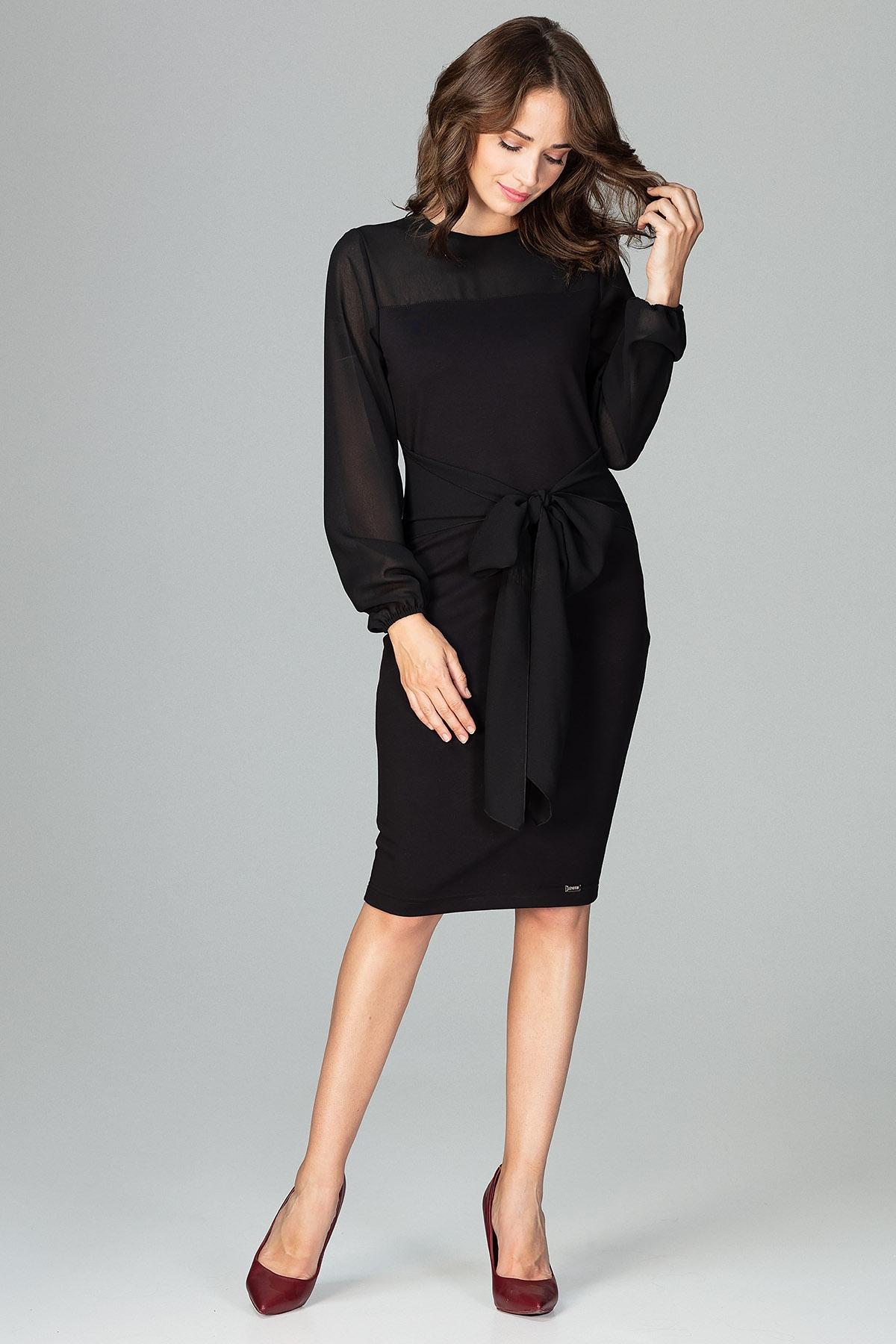 lenitif abendkleid mit femininer schleife Elegantes Abendkleid der Marke LENITIF AKLBB833260516