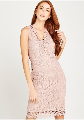 Apricot Etuikleid »Lace With Crochet Detail Dress« kaufen