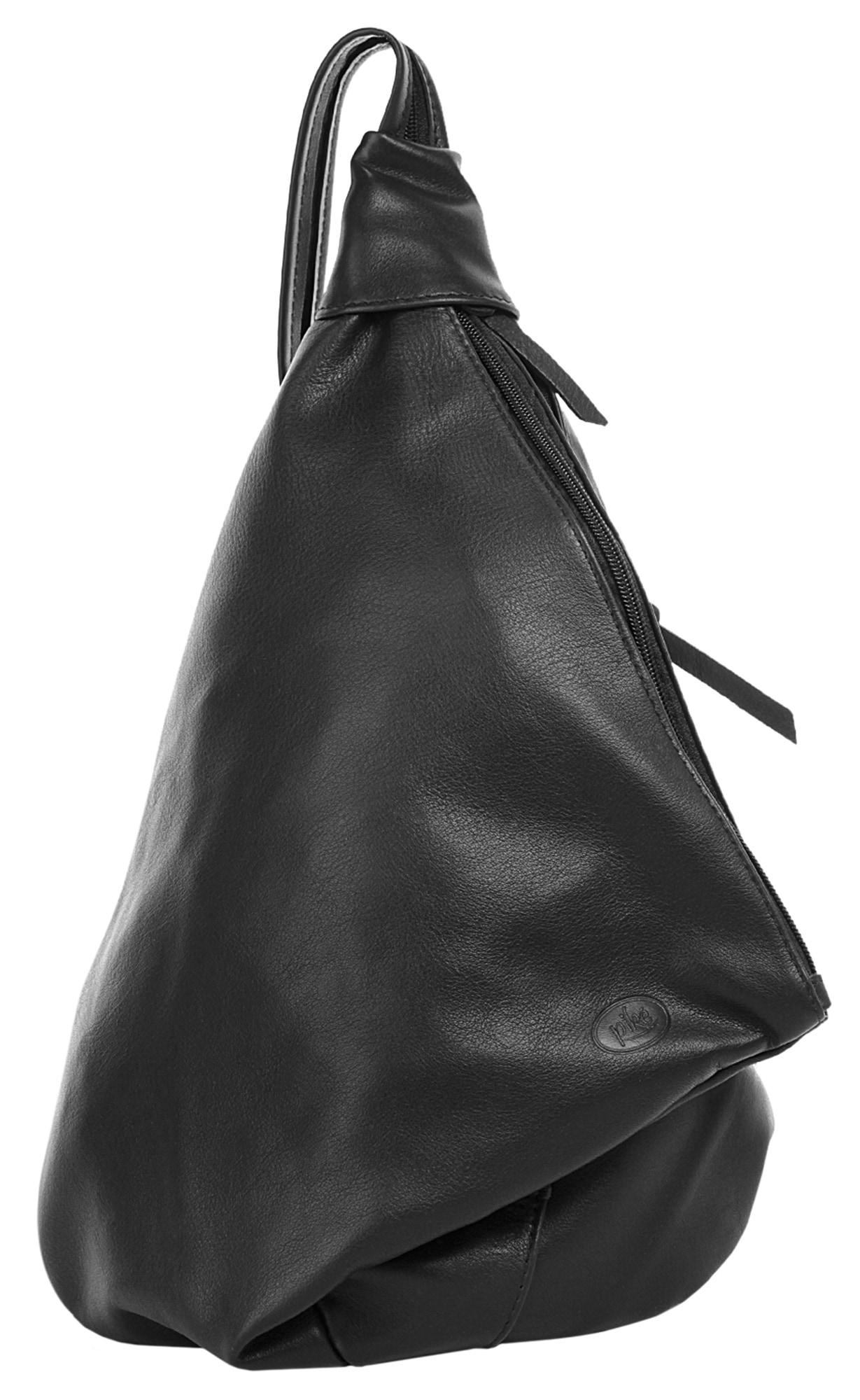 Piké Cityrucksack FENICE schwarz Taschen Rucksäcke Unisex