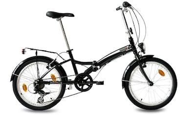 KCP Faltrad »Foldo Alu«, 6 Gang Shimano Tourney RD - TZ500 - GS Schaltwerk, Kettenschaltung (1 - tlg.) kaufen