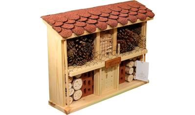 LUXUS-INSEKTENHOTEL Insektenhotel »Landsitz Komfort«, BxTxH: 47x12,5x34 cm, fertig... kaufen