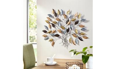 my home Wanddekoobjekt »Fagus«, Wanddeko, Wanddekoration, aus Metall kaufen