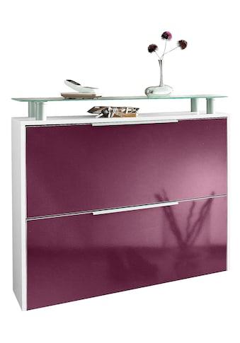borchardt Möbel Schuhschrank »Rena«, Hängeschuhschrank, mit Glasablage kaufen