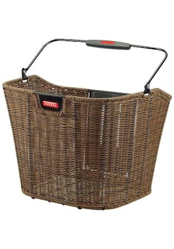 KlickFix Fahrradkorb »Vorderradkorb Structura« kaufen