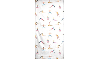 "Handtuch ""Yoga People"", Juniqe kaufen"