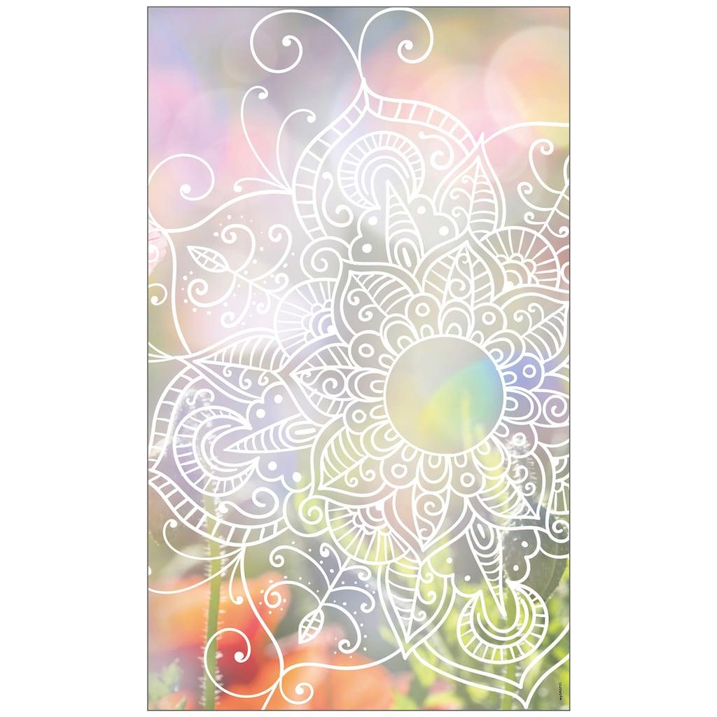 MySpotti Fensterfolie »Zangtangel white«, halbtransparent, glattstatisch haftend, 60 x 100 cm, statisch haftend