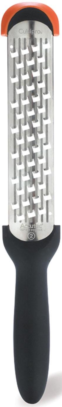 Cuisipro Küchenreibe, (Kronenreibe), grob, für müheloses Reiben, mit Surface Glide TechnologyTM schwarz Küchenreibe Reiben Hobel Kochen Backen Haushaltswaren