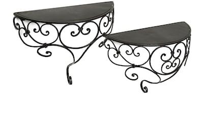 Ambiente Haus Wandregal »Wandregal-Set aus Eisen 45cm«, (1 St.) kaufen
