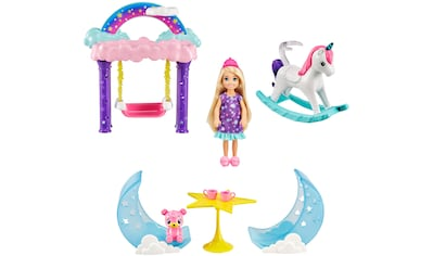 Barbie Puppenhaus »Dreamtopia, Chelsea Regenbogen-Schaukel-Spielset«, inkl.... kaufen
