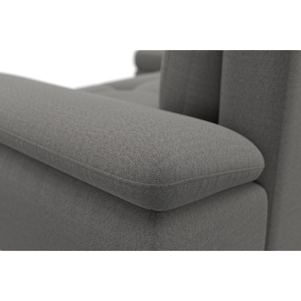 sit&more Ecksofa, mit Mega-Recamiere, wahlweise mit Bettfunktion und Bettkasten