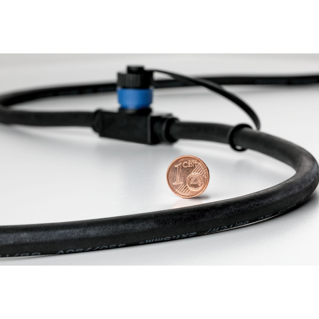 Paulmann LED Einbauleuchte »Outdoor Plug & Shine Floor«, 1 St., Warmweiß, IP65 3000K 24V